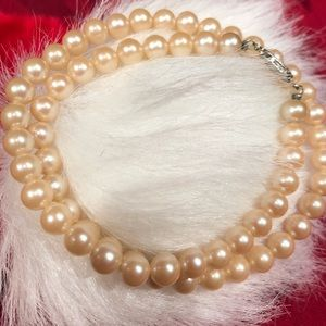 Vintage Champaign Faux Pearls 🎀 Japan